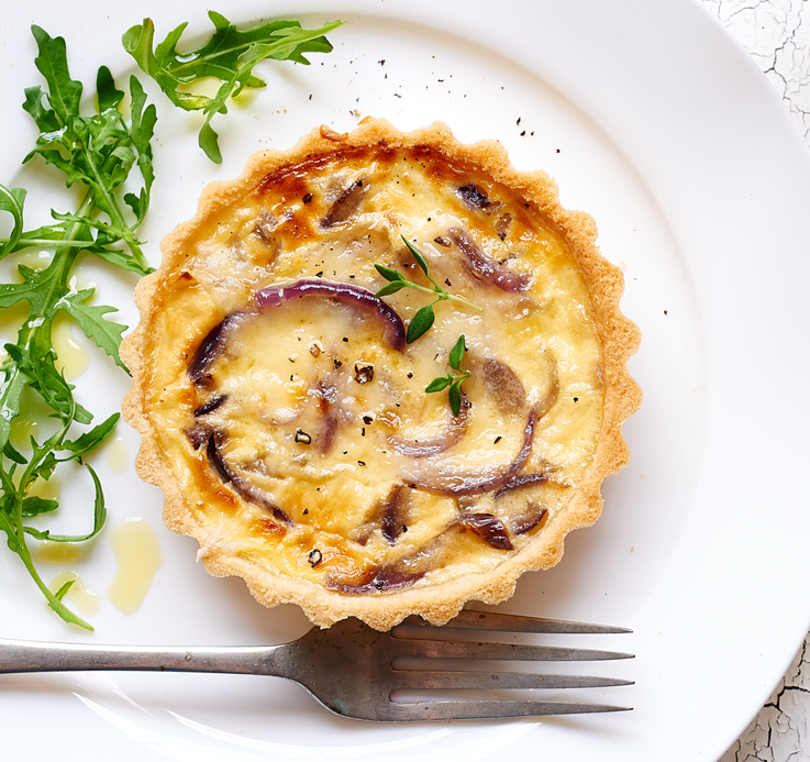 Cheese & Onion Tarts
