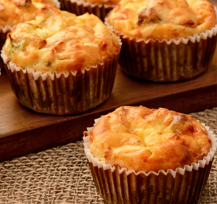 Cheese and Paprika Muffins